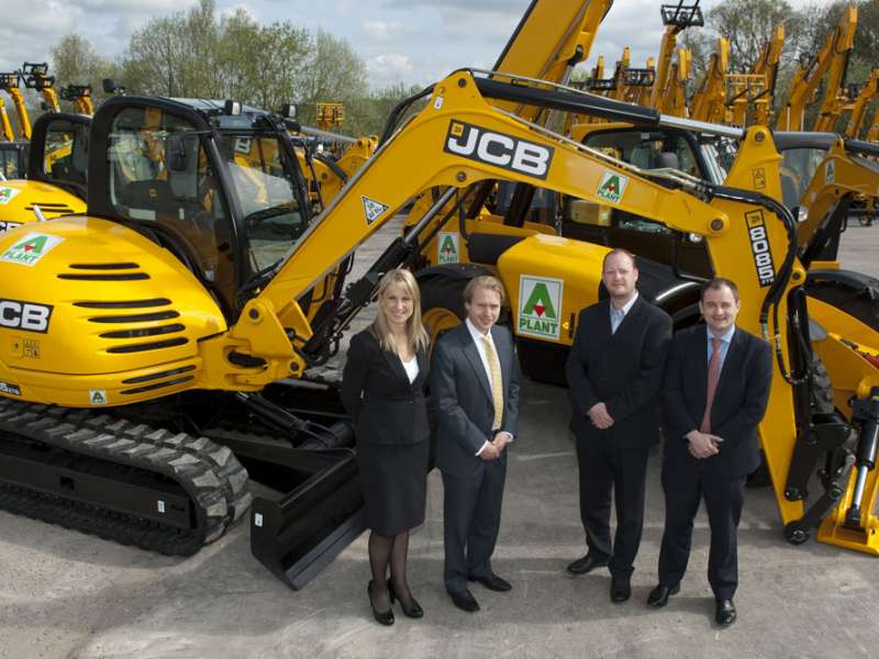 JCB win order from A-Plant