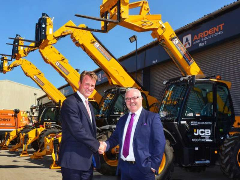 JCB order from Ardent Hire Solutions