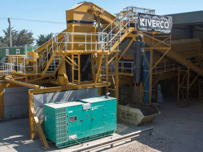 Kiverco waste recovery plant