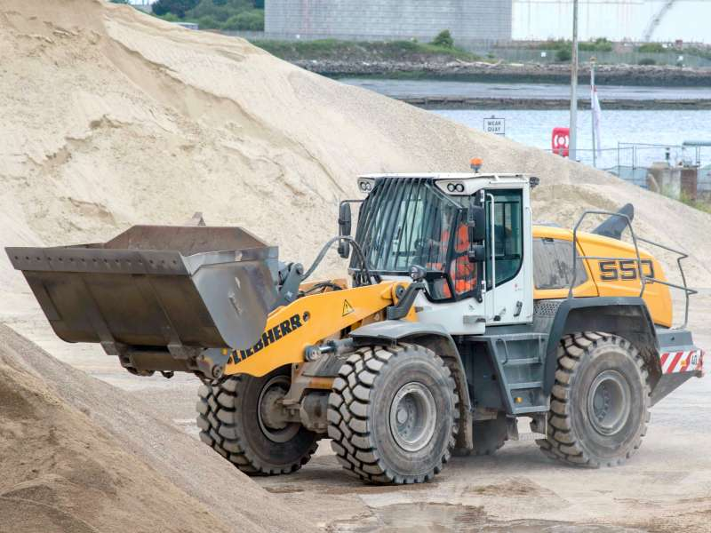 Liebherr L 550 XPower wheel loader