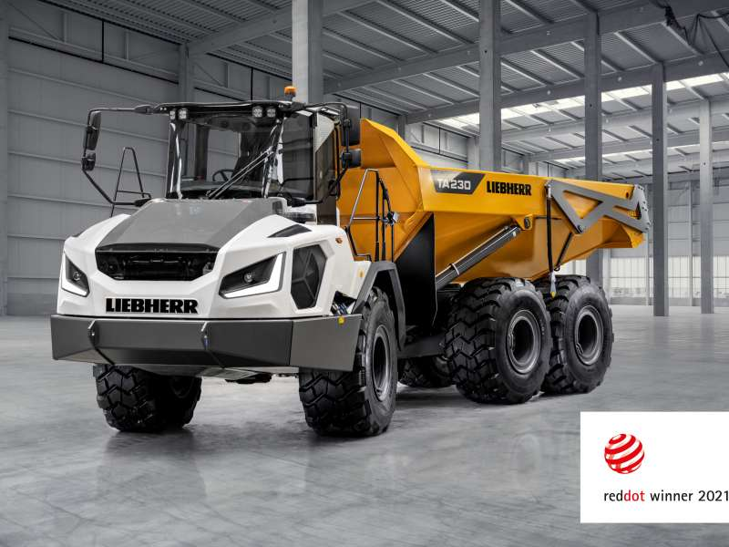 Liebherr TA 230 articulated dumptruck