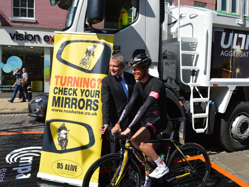 York Cycle Safe event