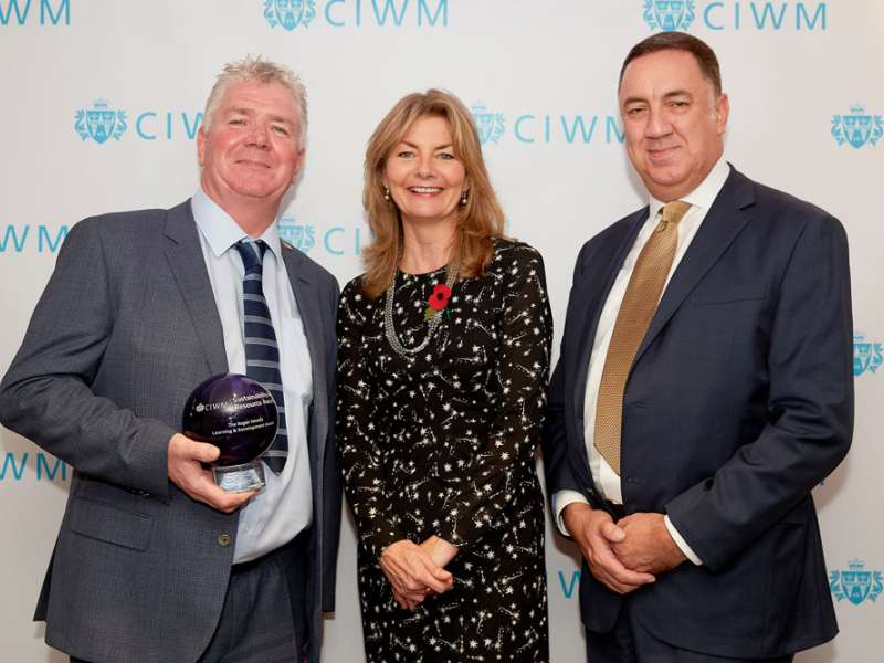 O'Donovan receive CIWM award