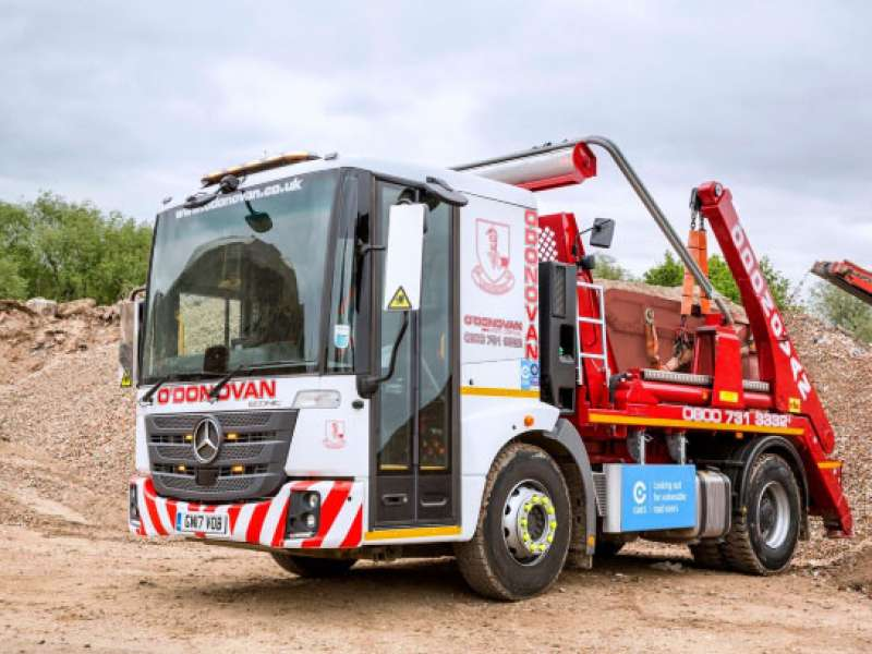 O'Donovan enter partnership with Construction Waste Portal