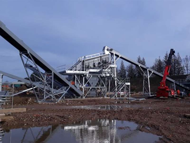 DUO aggregate processing plant