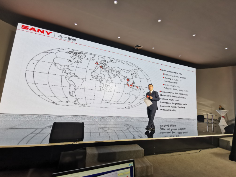 Sany Global Dealer Live Forum