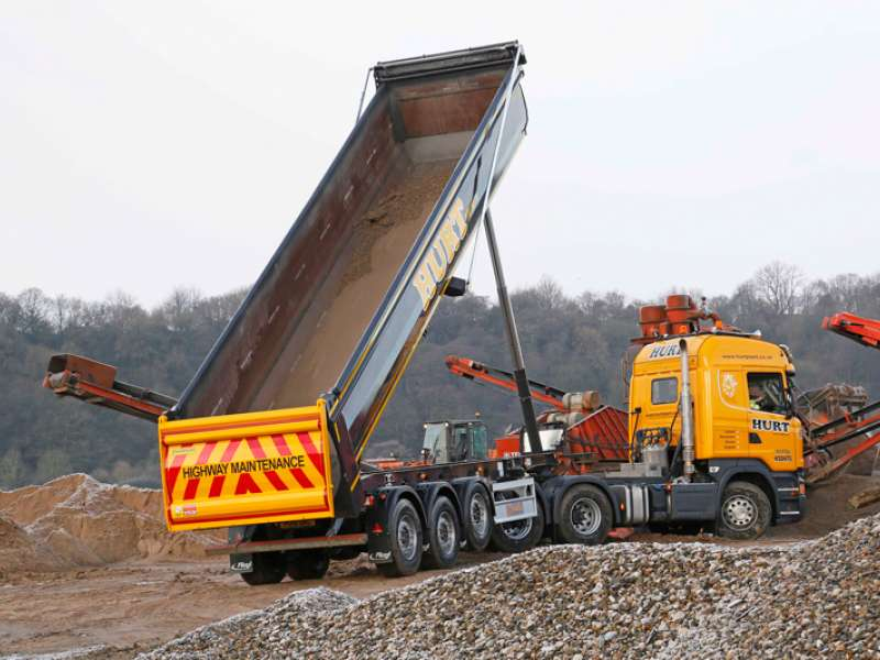 Paymaster tipping trailer