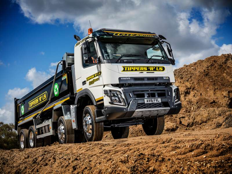 Volvo FMX off-road truck