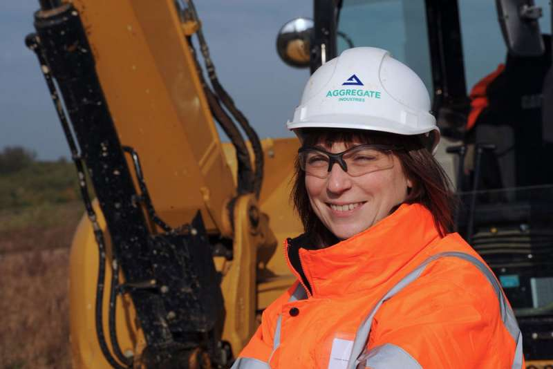 Aggregate Industries encourage more women workers