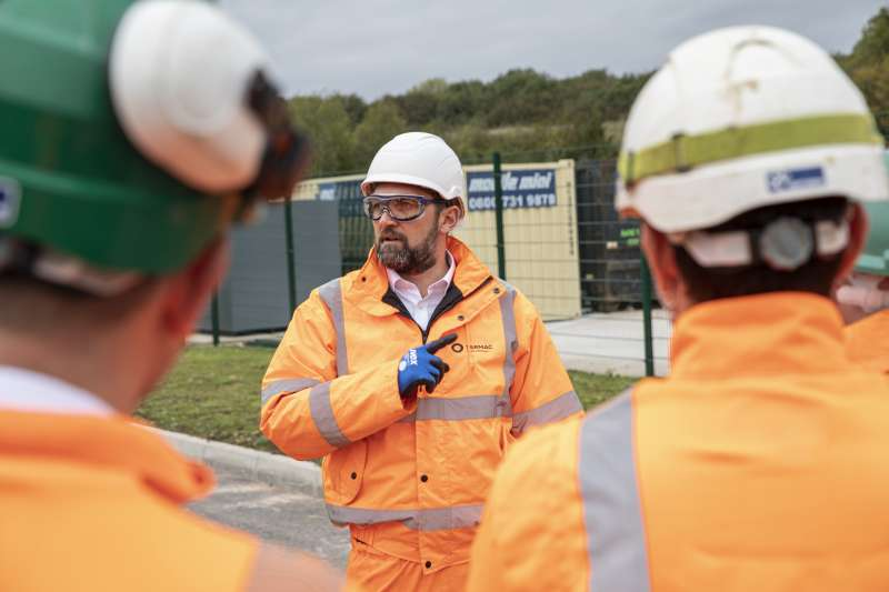 Apprenticeships are a popular pathway into quarrying