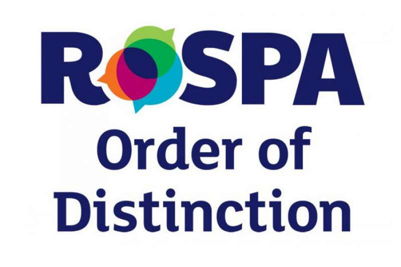 RoSPA Order of Distinction