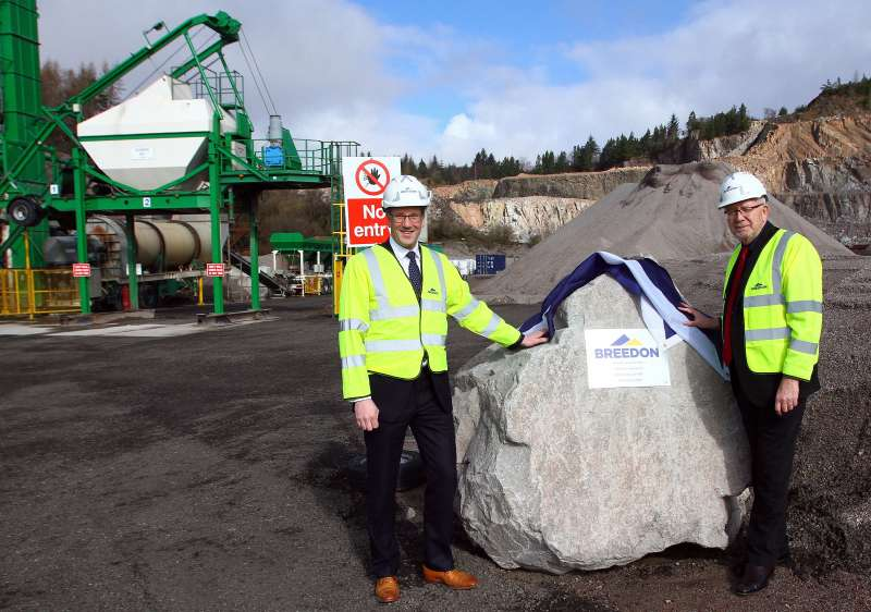 New asphalt plant at Furnace Quarry