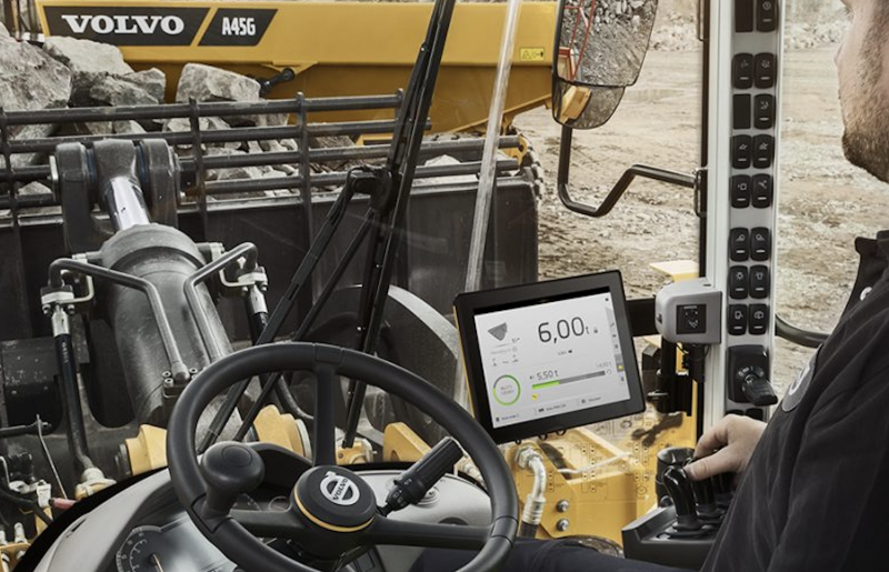 Volvo CE's Load Assist