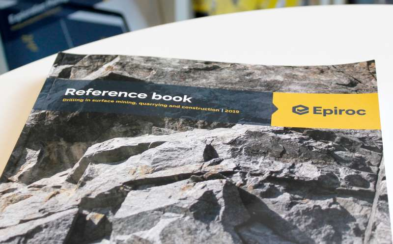 Epiroc Reference book