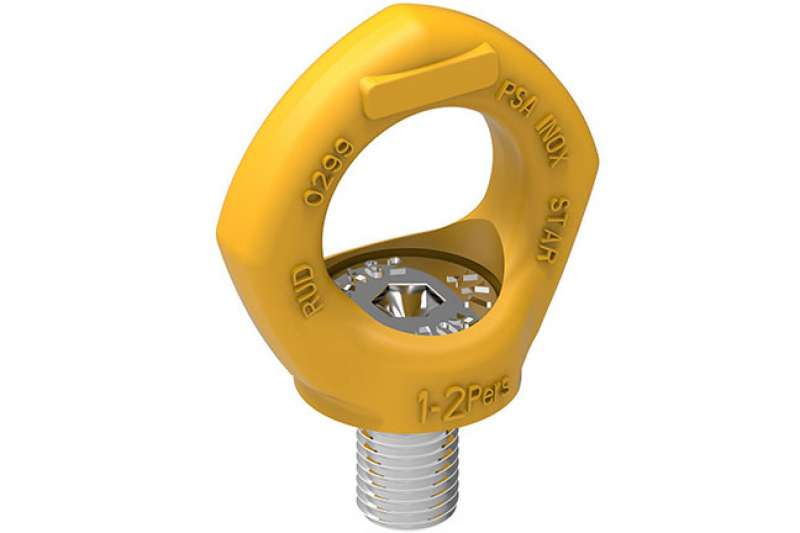 PSA INOX STAR fall protection anchorage point