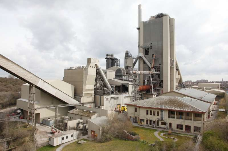 Rugby cement plant