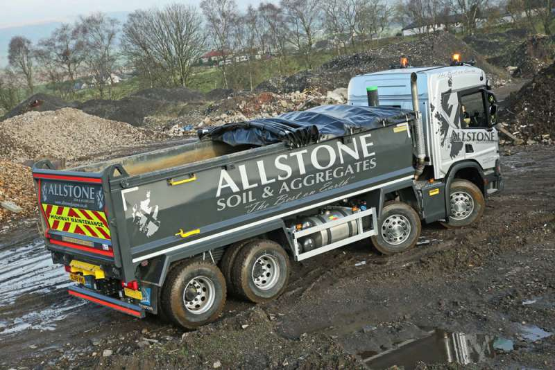 Allstone's new Harsh-equipped tipper